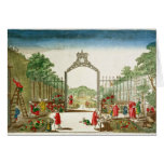 A Market Garden at One of the Gates of Paris Card