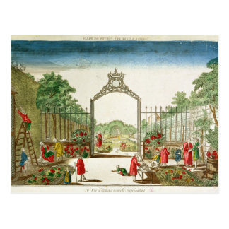 A Market Garden at One of the Gates of Paris Postcard