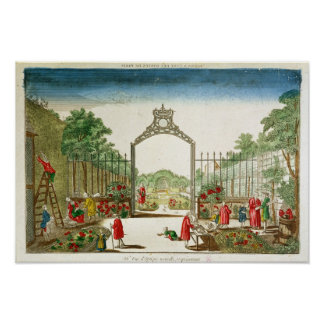 A Market Garden at One of the Gates of Paris Poster