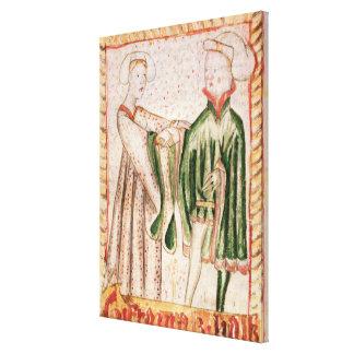 A Marriage Canvas Prints