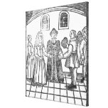 A Marriage Ceremony Canvas Prints