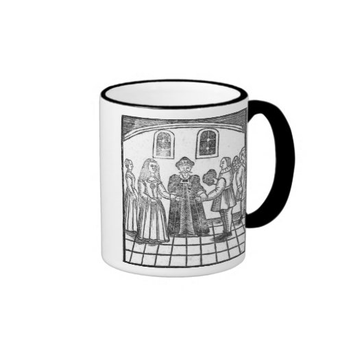 A Marriage Ceremony Coffee Mugs