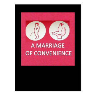 A Marriage of Convenience Post Cards