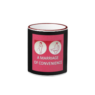 A Marriage of Convenience Ringer Coffee Mug