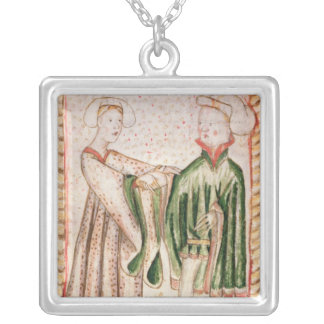 A Marriage Silver Plated Necklace