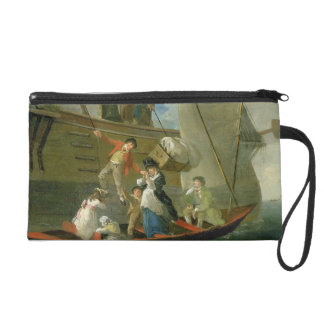 A Married Sailor's Adieu, c.1800 (oil on panel) Wristlets