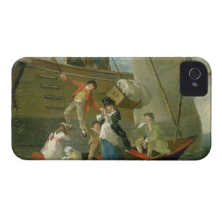A Married Sailor's Adieu, c.1800 (oil on panel) iPhone 4 Case-Mate Case