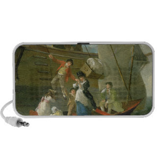 A Married Sailor's Adieu, c.1800 (oil on panel) Notebook Speaker