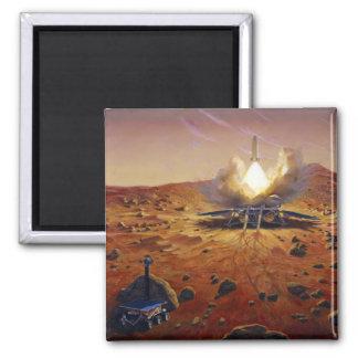 A Mars ascent vehicle Fridge Magnet