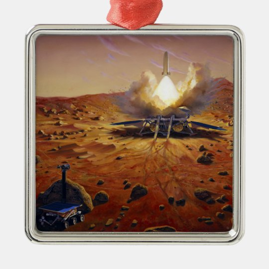 A Mars ascent vehicle Metal Ornament
