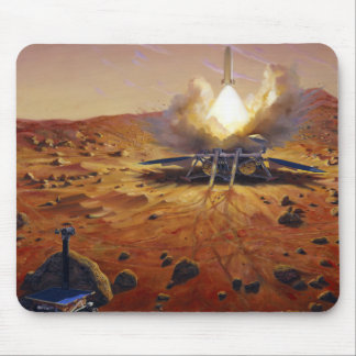 A Mars ascent vehicle Mouse Pad