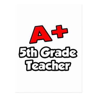 A más el 5to profesor del grado postales