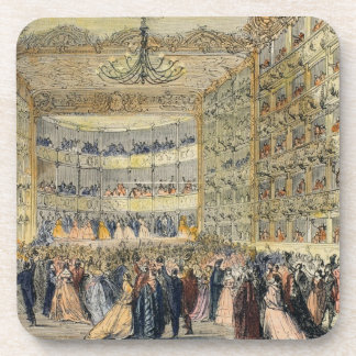 A Masked Ball at the Fenice Theatre, Venice, 19th Coaster