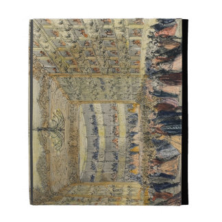 A Masked Ball at the Fenice Theatre, Venice, 19th iPad Folio Cases