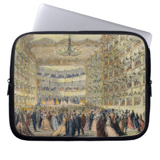 A Masked Ball at the Fenice Theatre, Venice, 19th Laptop Sleeve