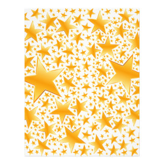 A Massive Amount of Gold Stars Letterhead