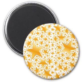 A Massive Amount of Gold Stars Magnet