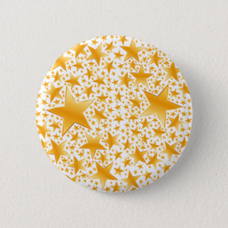 A Massive Amount of Gold Stars Pinback Button