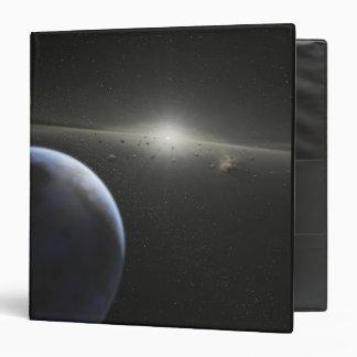 A massive asteroid belt in orbit around a star vinyl binder