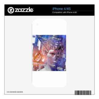 A MATTER OF TIME.jpg iPhone 4 Skin