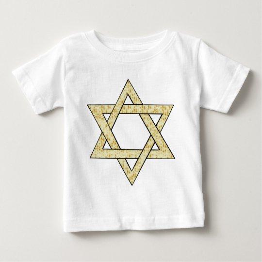 A Matzoh Star of David Baby T-Shirt