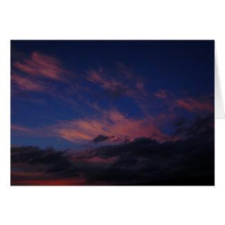 A Maui Sunrise Greeting Card