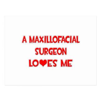 A Maxillofacial Surgeon Loves Me Postcard