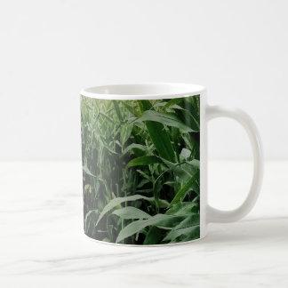 A maze of maize classic white coffee mug