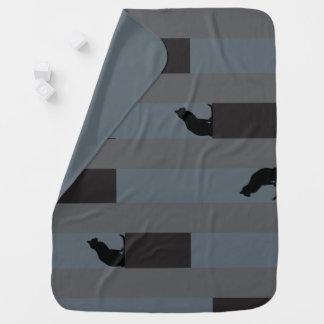 A-MAZING Kitty 2 in 1 blankie Swaddle Blanket