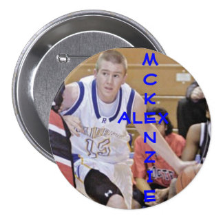 A. McKenzie 15 Pinback Button