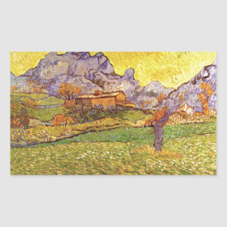 A Meadow In The Mountains Le Mas De St. Paul Sticker