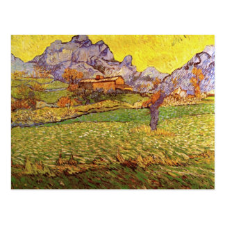 A Meadow in the Mountains, Vincent van Gogh Postcard