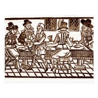 A Meal at the Inn Postcard