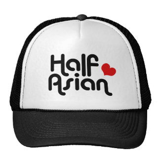 A medias asiático gorras