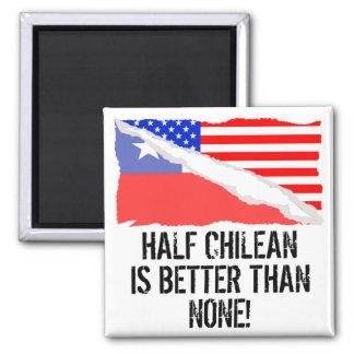 A medias chileno es mejor que ninguno imán cuadrado