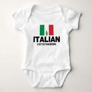 A medias italiano es mejor que nada body para bebé