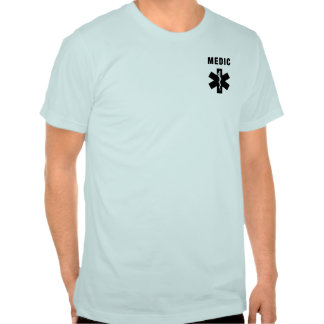 A Medic Star of Life T Shirts