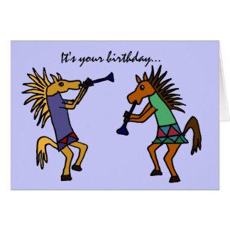 A MEDIDA QUE tarjeta de cumpleaños de baile de los