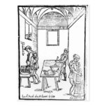 A Medieval Kitchen Post Cards