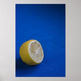 A Mediterranean Lemon Posters