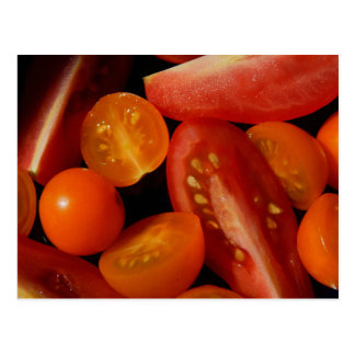 A Medley of Tomatoes Postcard