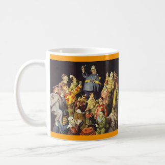 A MEETING OF CLOWNS Office Humor Circus Act 3 ring Coffee Mug