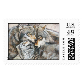 """A Meeting of Minds"" Postage Stamps"