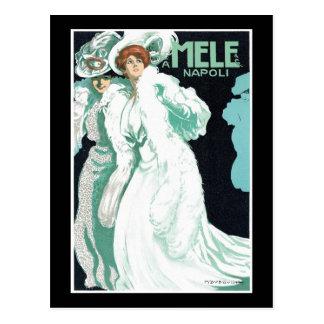 A. Mele y modas del italiano del Co. Tarjetas Postales