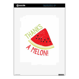 A Melon Decal For iPad 2