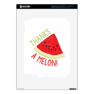 A Melon Decal For iPad 3