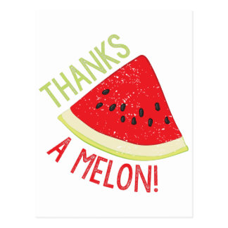 A Melon Postcard
