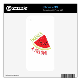 A Melon Skins For The iPhone 4