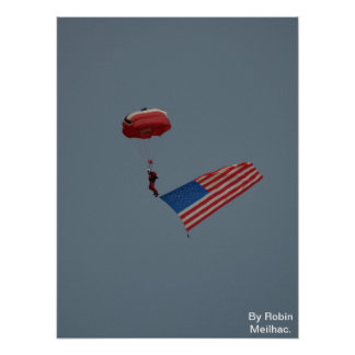 A member of the Bristish Red Devils. Print