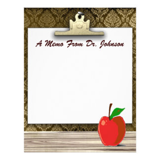 A Memo From Dr. ??...Apple Stationery Letterhead